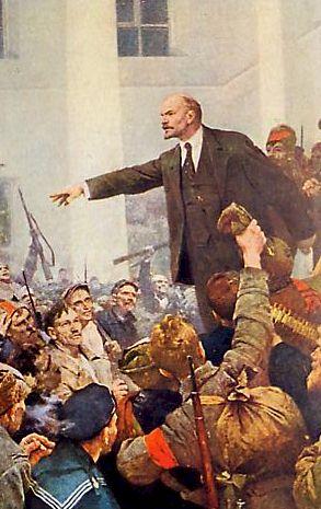 Lénine, tableau de Serov