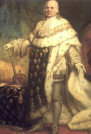 Louis Xviii 1755 1824 Le 171 Roi Fauteuil 187 Herodote Net
